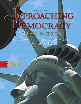 Paperback Approaching Democracy + 2008 Election Preview Book