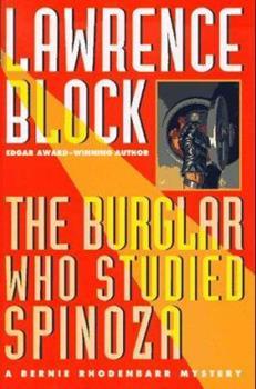 The Burglar Who Studied Spinoza 0060872764 Book Cover