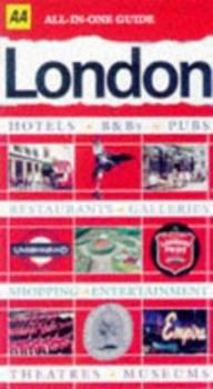 Paperback AA All-In-One Guide London (All-in-one Guide) Book