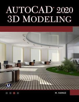 Paperback AutoCAD 2020 3D Modeling Book