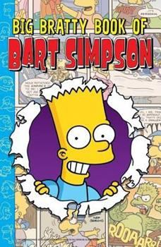 Paperback Big Bratty Book of Bart Simpson Book