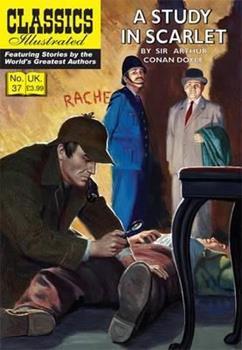 Paperback A Study in Scarlet: A Sherlock Holmes Mystery Book