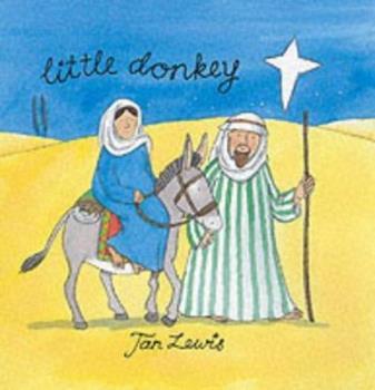 Board book Little Donkey (Shimmery Board Books) Book
