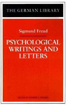 Paperback Psychological Writings and Letters Book