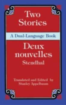 Two Stories/Deux nouvelles: A Dual-Language Book (Dover Dual Language French) 0486439577 Book Cover