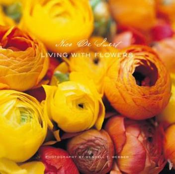 Hardcover Living with Flowers Book