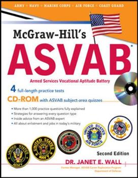 Paperback McGraw-Hill's ASVAB with CD-ROM, Second Edition Book