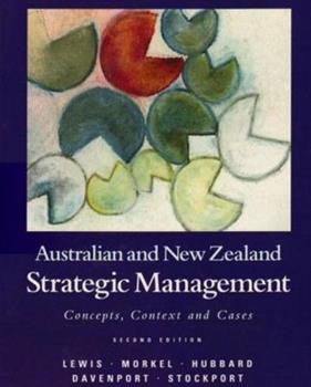 Paperback Strategic Management: Australia and New Zealand Book