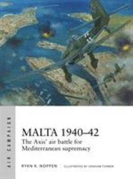 Malta 1940-42: The Axis' Air Battle for Mediterranean Supremacy - Book #4 of the Osprey Air Campaign