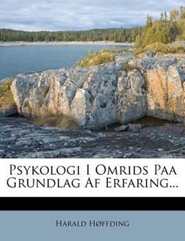 Paperback Psykologi I Omrids Paa Grundlag Af Erfaring Book