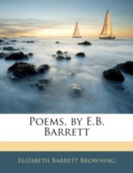 Paperback Poems, by E B Barrett Book