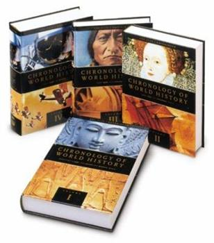 Chronologies of World History, 4 Vol. Set 0133264300 Book Cover