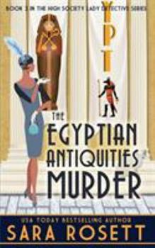 The Egyptian Antiquities Murder 0998843180 Book Cover