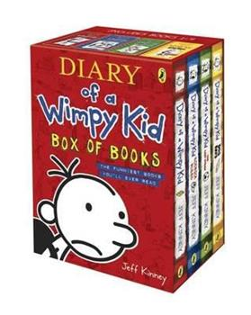 Diary of a Wimpy Kid: #1-5 [Box Set] - Book  of the Diary of a Wimpy Kid