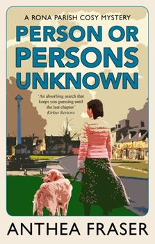 Person or Persons Unknown (Rona Parish Mysteries) 0727862057 Book Cover