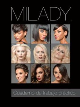 Paperback Spanish Translated Practical Workbook for Milady Standard Cosmetology Book