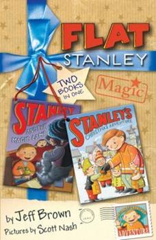 Flat Stanley Magic 1405230371 Book Cover