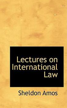 Paperback Lectures on International Law Book