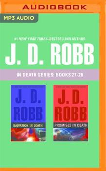 MP3 CD J. D. Robb: In Death Series, Books 27-28: Salvation in Death, Promises in Death Book