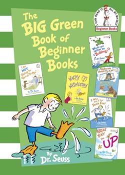 The Big Green Book of Beginner Books 0375858075 Book Cover