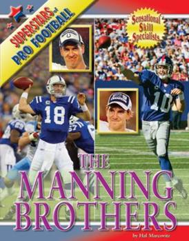 The Manning Brothers - Book  of the Superstars of Professional Football
