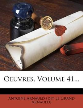 Paperback Oeuvres, Volume 41... Book