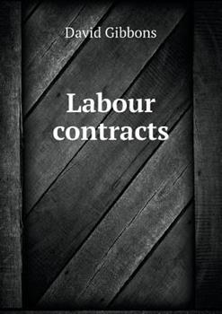 Paperback Labour Contracts Book