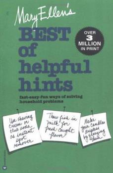 Mary Ellen's Best of Helpful Hints 0446381217 Book Cover