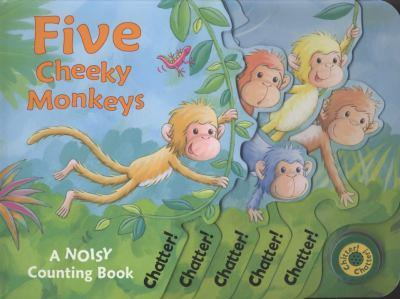 Five Cheeky Monkeys 1845065506 Book Cover