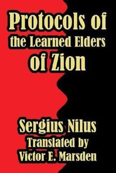 Paperback Protocols of the Learned Elders of Zion Book