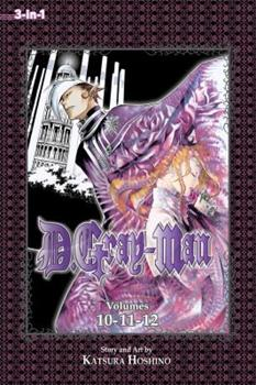 D.Gray-man (3-in-1 Edition), Vol. 4: Includes Vols. 10, 11 & 12 - Book #4 of the D.Gray-Man Omnibus 3-in-1 Edition