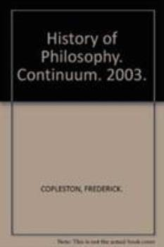 A History of Philosophy: Eleven-volume Set 006491285X Book Cover