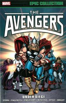 Avengers Epic Collection Vol. 16: Under Siege - Book #15 of the Avengers 1963-1996 #278-285, Annual