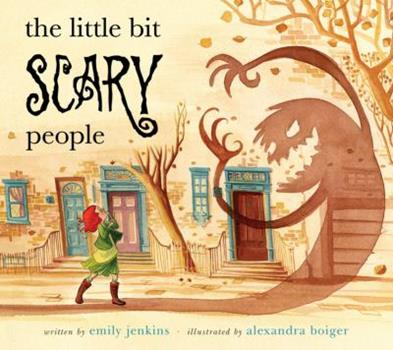 Hardcover The Little Bit Scary People Book