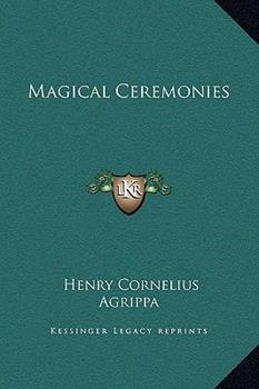 Hardcover Magical Ceremonies Book