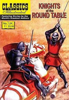 Paperback Knights of the Round Table Book