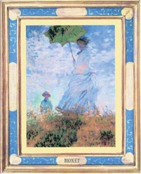 Monet - Woman with a Parasol 0764158090 Book Cover