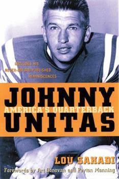 Johnny Unitas: America's Quarterback 1572436107 Book Cover