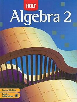 Algebra 2 0030923514 Book Cover