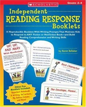 Independent Reading Response Booklets 0439395135 Book Cover