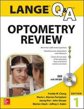 Paperback Lange Q&a Optometry Review: Basic and Clinical Sciences Book