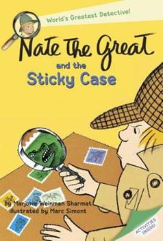 Nate the Great and the Sticky Case 0440462894 Book Cover