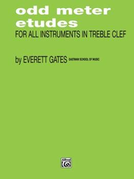 Paperback Odd Meter Etudes for All Instruments in Treble Clef Book