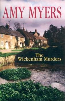 Hardcover The Wickenham Murders [Large Print] Book
