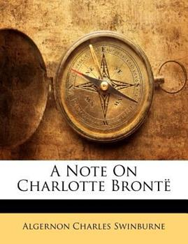 Paperback A Note on Charlotte Bront? Book