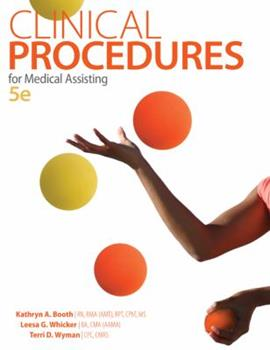 Clinical Procedures for Medical Assisting 007325987X Book Cover