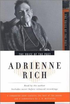 Adrienne Rich (Voice of the Poet) - Book  of the Voice of the Poet