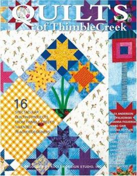 Quilts of Thimble Creek (Leisure Arts #15907) 1574862855 Book Cover