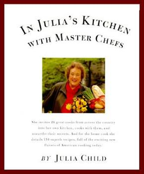 In Julia's Kitchen with Master Chefs 0679760059 Book Cover