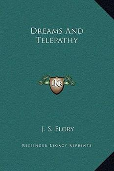 Hardcover Dreams And Telepathy Book
